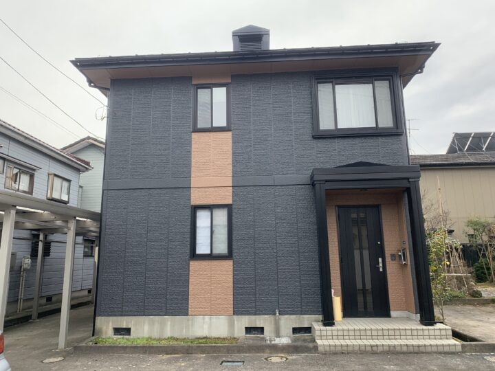 三条市 U様邸 外壁・屋根塗装工事