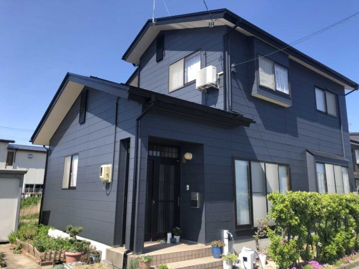 三条市 S様邸 外壁・屋根塗装工事